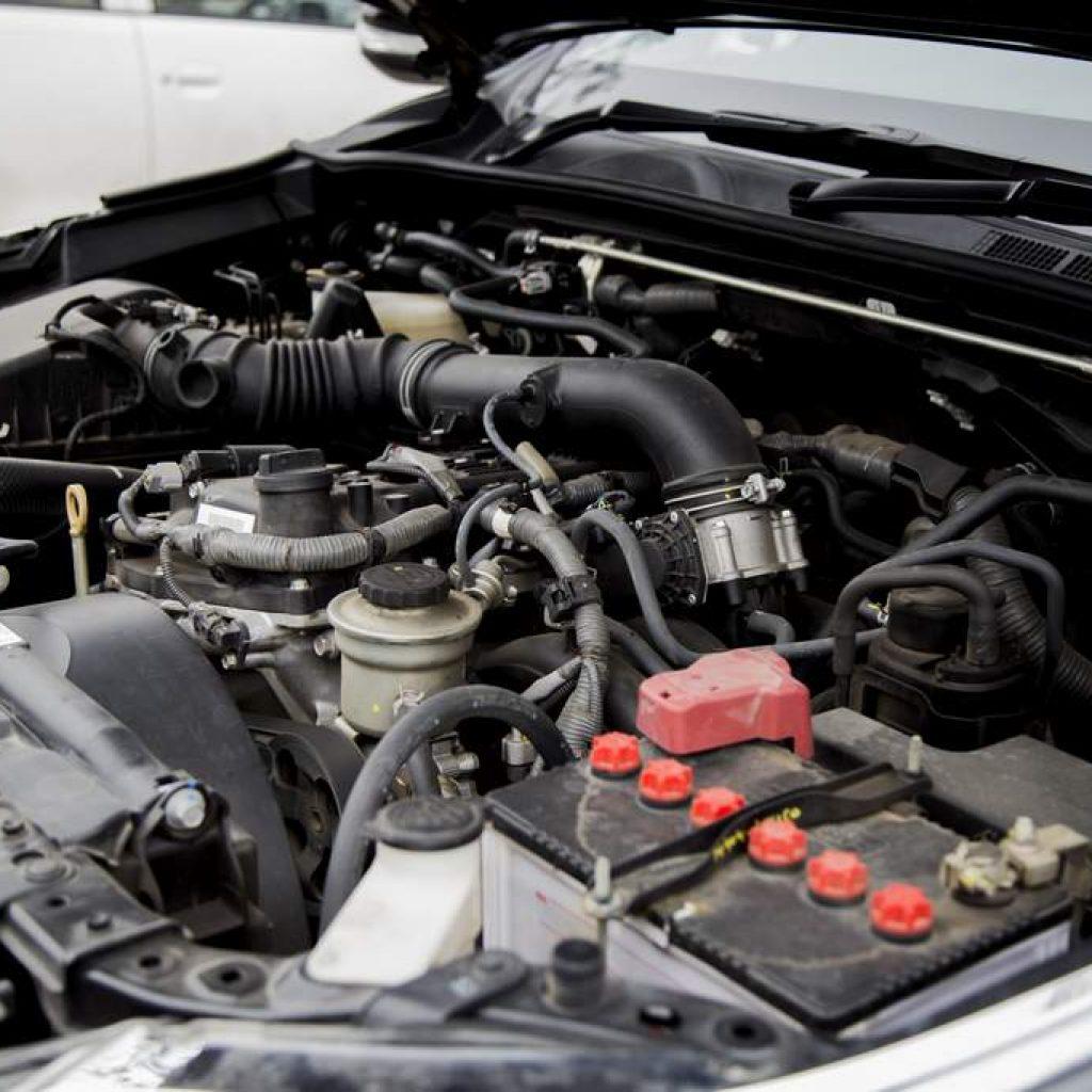 Бензиновый двигатель Тойота Фортунер 2.7 2TR-FE