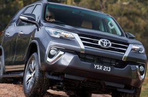 Объемы продаж Тойота Фортунер 2018 растут